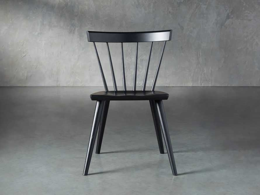 "Robie 21"" Dining Side Chair in Black"