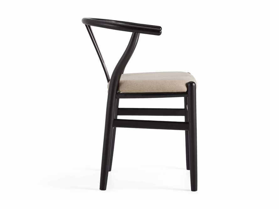 "Robin 21"" Dining Side Chair in Black, slide 11 of 11"