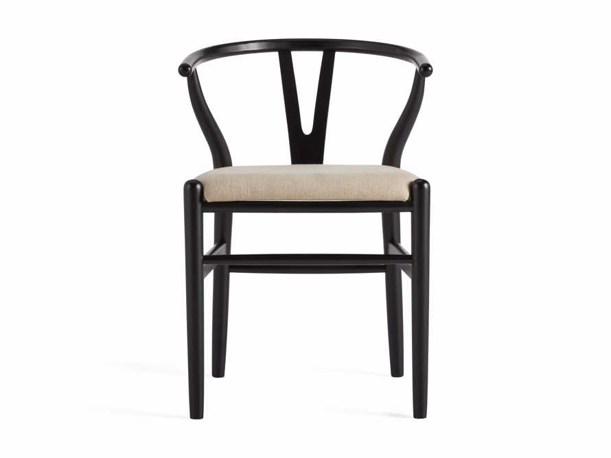 "Robin 21"" Dining Side Chair in Black, slide 10 of 11"
