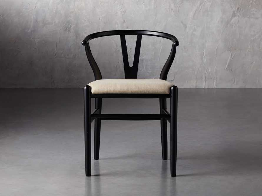 "Robin 21"" Dining Side Chair in Black, slide 3 of 11"