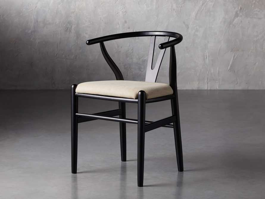 "Robin 21"" Dining Side Chair in Black, slide 4 of 11"