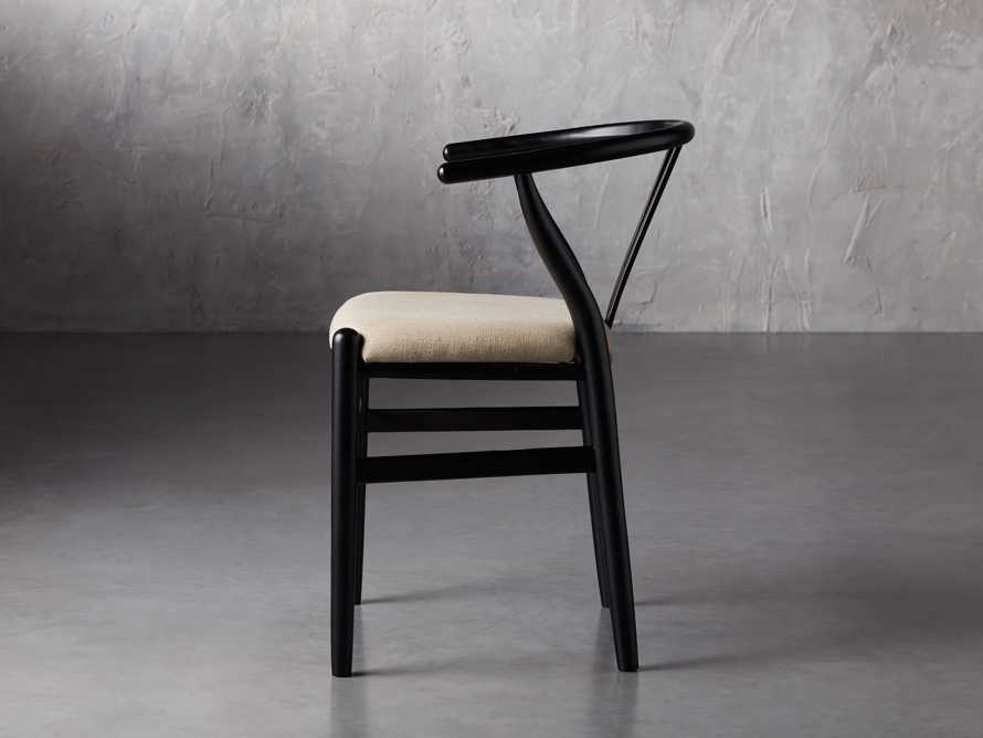 "Robin 21"" Dining Side Chair in Black, slide 5 of 11"