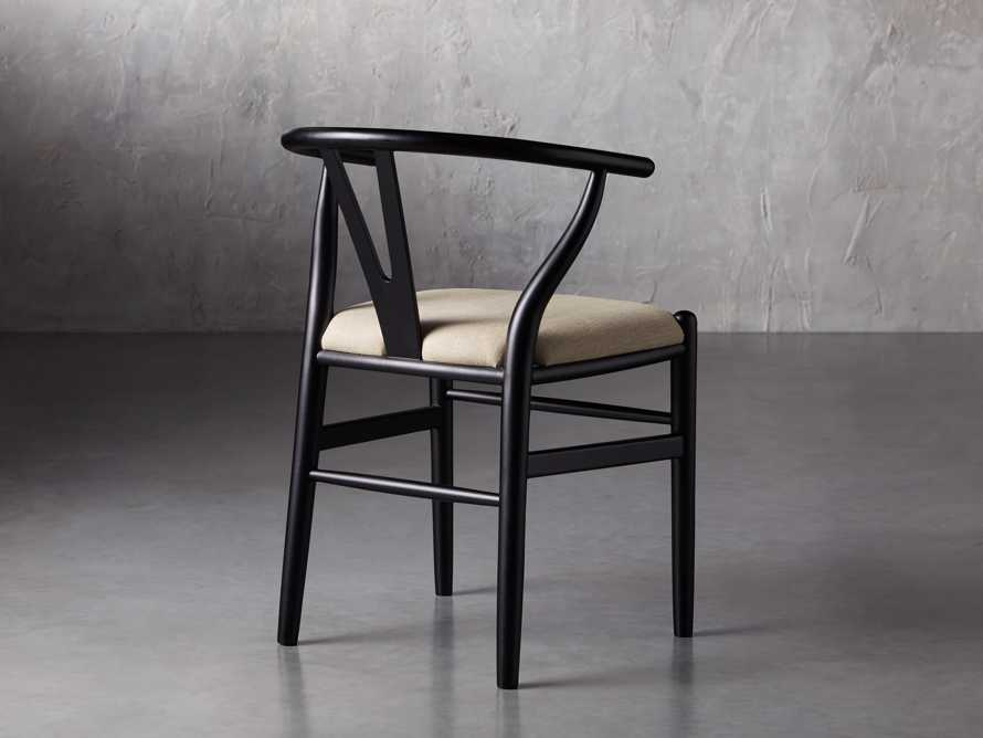 "Robin 21"" Dining Side Chair in Black, slide 6 of 11"