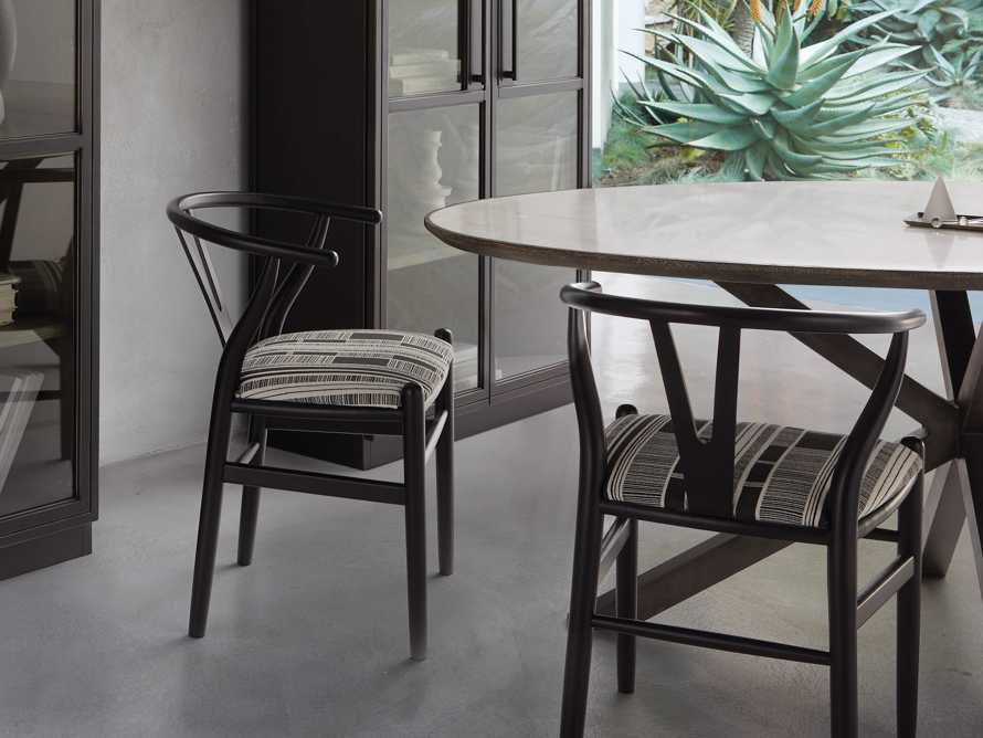 "Robin 21"" Dining Side Chair in Black, slide 2 of 11"