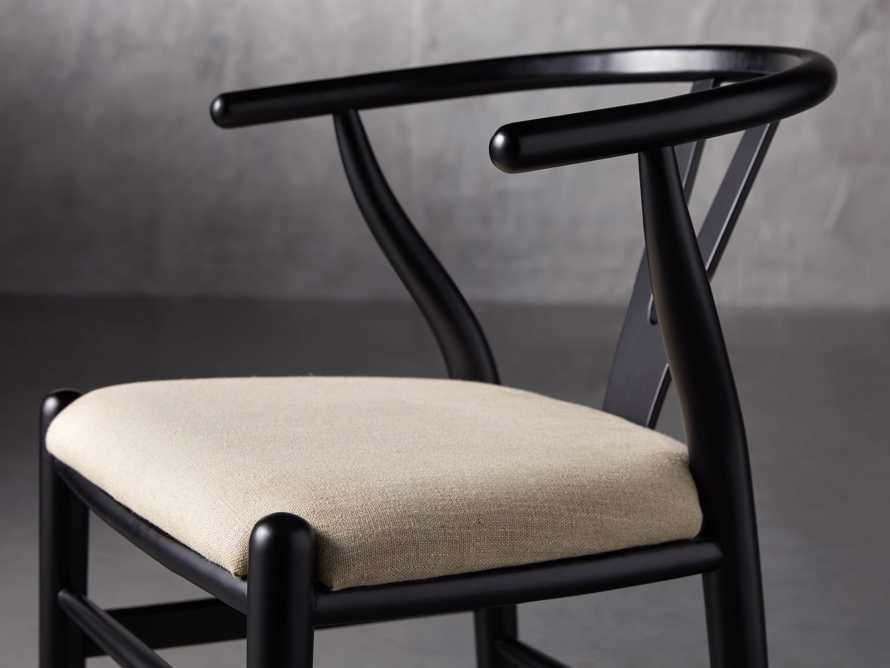 "Robin 21"" Dining Side Chair in Black, slide 7 of 11"