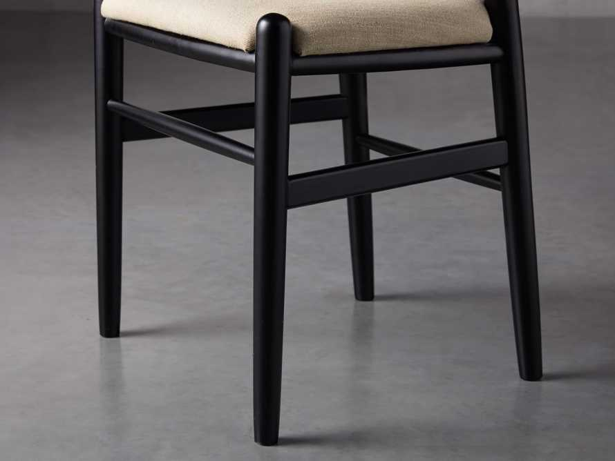 "Robin 21"" Dining Side Chair in Black, slide 8 of 11"