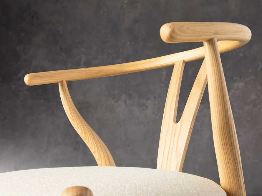 """Robin 21"""" Counterstool In Natural, slide 7 of 10"""