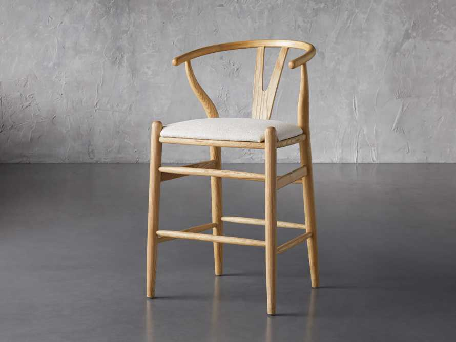 """Robin 21"""" Counterstool In Natural, slide 4 of 10"""