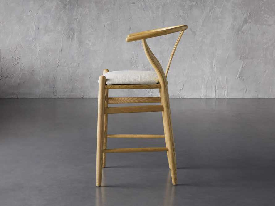 """Robin 21"""" Counterstool In Natural, slide 5 of 10"""