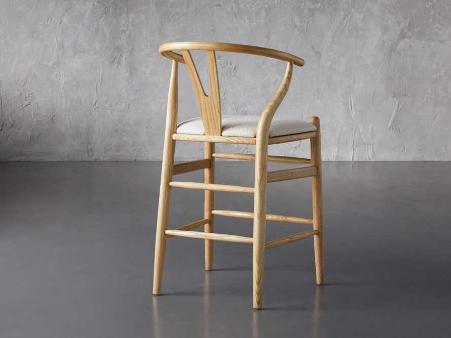 """Robin 21"""" Counterstool In Natural, slide 6 of 10"""