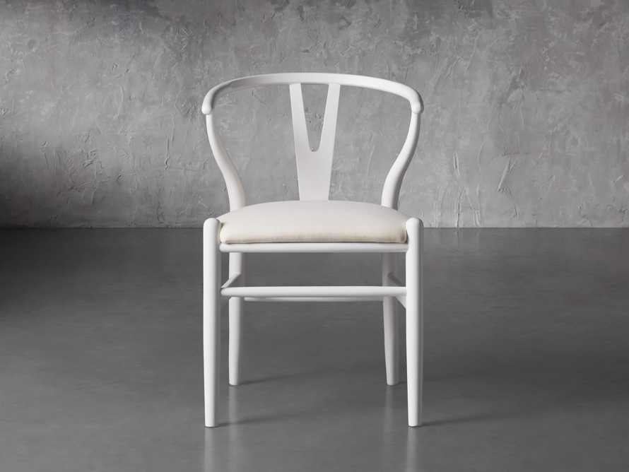 """Robin 21"""" Dining Chair In Snow, slide 2 of 8"""