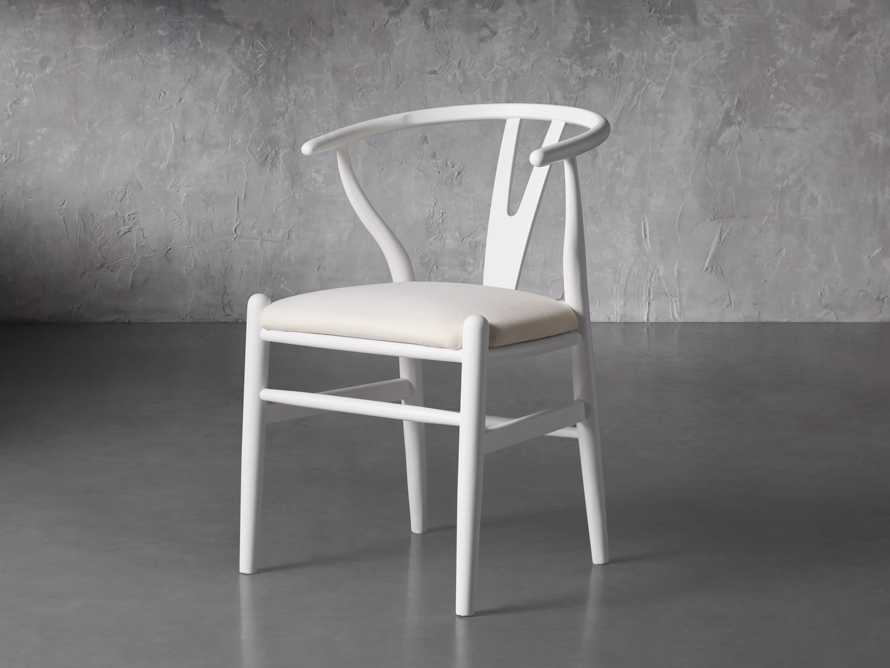 """Robin 21"""" Dining Chair In Snow, slide 3 of 8"""