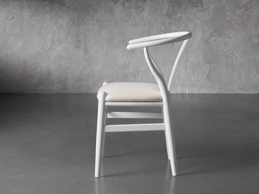 """Robin 21"""" Dining Chair In Snow, slide 4 of 8"""