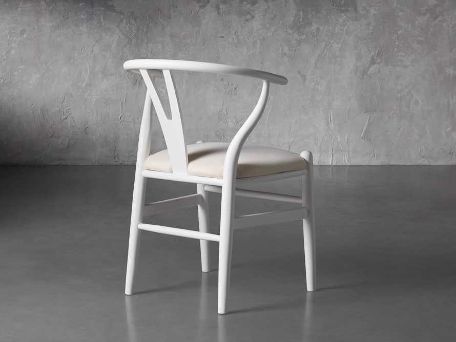 """Robin 21"""" Dining Chair In Snow, slide 5 of 8"""