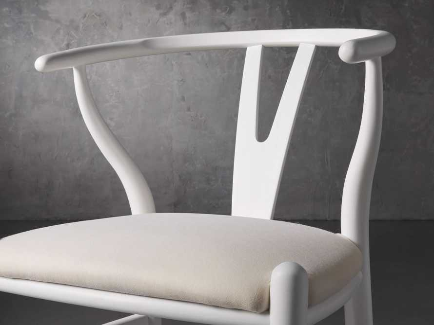 """Robin 21"""" Dining Chair In Snow, slide 6 of 8"""