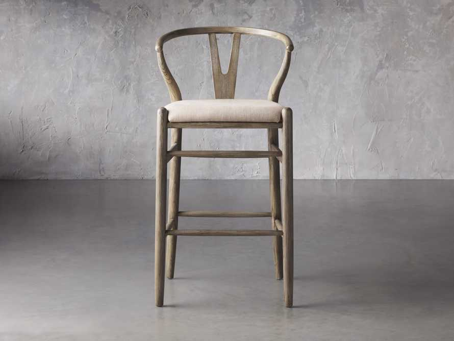 Robin Bar Stool in Stone Vintage, slide 2 of 8