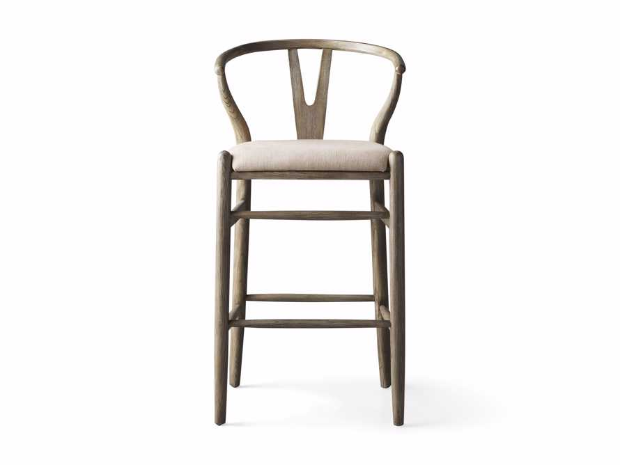 Robin Bar Stool in Stone Vintage, slide 7 of 8