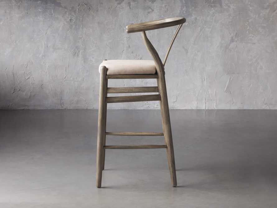 Robin Bar Stool in Stone Vintage, slide 4 of 8