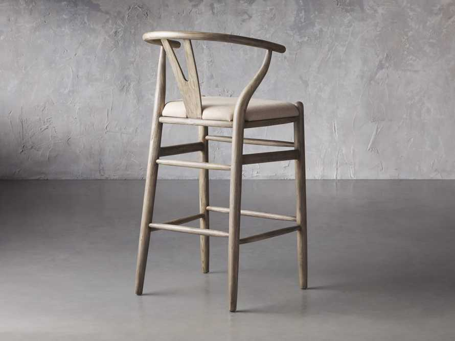 Robin Bar Stool in Stone Vintage, slide 5 of 8