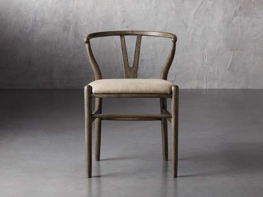 Robin Dining Side Chair in Stone Vintage, slide 2 of 9
