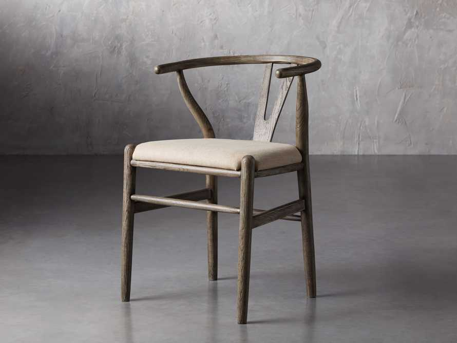 Robin Dining Side Chair in Stone Vintage, slide 3 of 9