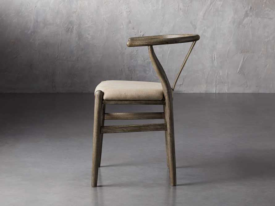Robin Dining Side Chair in Stone Vintage, slide 4 of 9