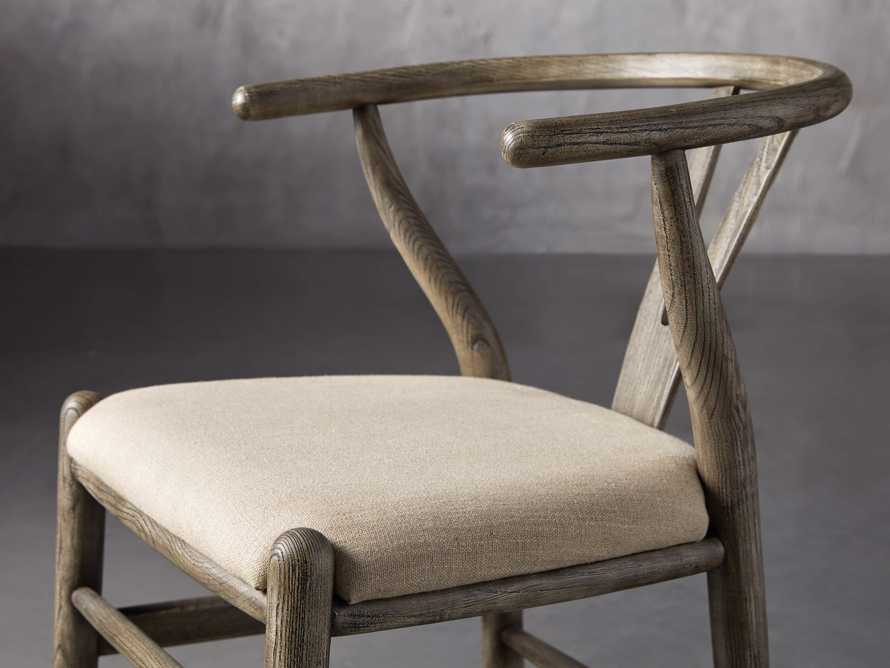 Robin Dining Side Chair in Stone Vintage, slide 6 of 9