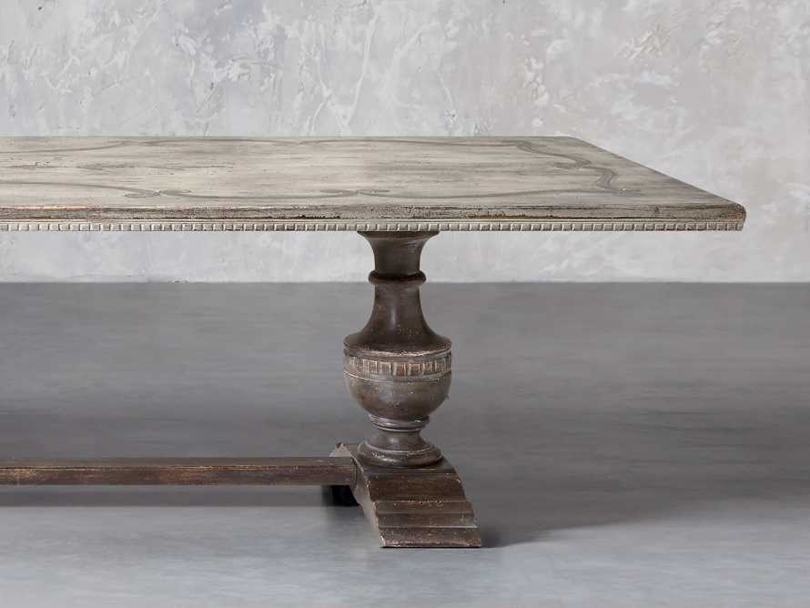 "Roma 86"" Rectangle Bell'Arte Dining Table, slide 1 of 4"