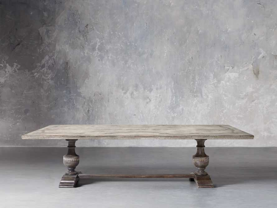 "Roma 86"" Rectangle Bell'Arte Dining Table, slide 2 of 4"