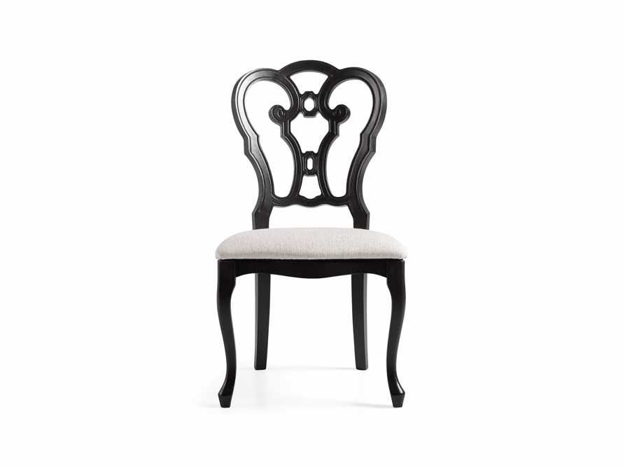 "Sabine 21"" Bell'Arte Dining Side Chair with Upholstered Seat, slide 6 of 9"