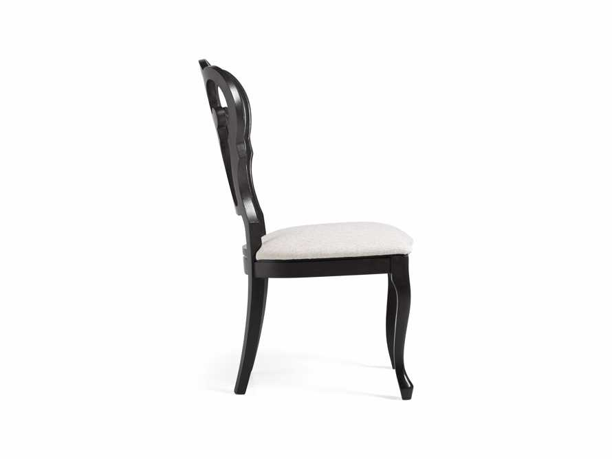 "Sabine 21"" Bell'Arte Dining Side Chair with Upholstered Seat, slide 7 of 9"