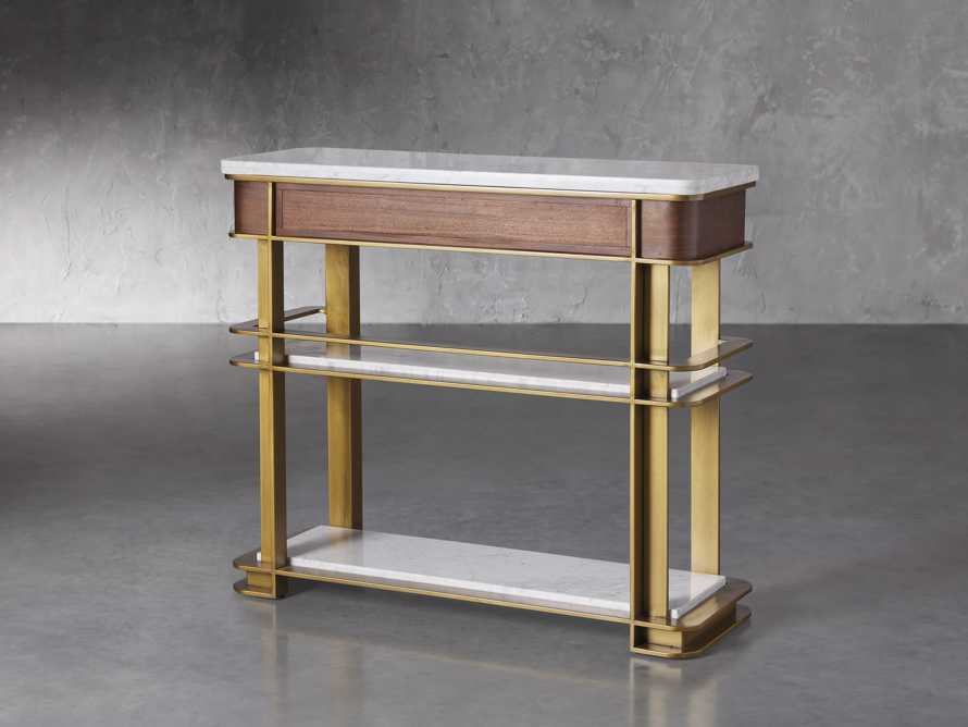 "Sama 42"" Bar Cart, slide 3 of 6"