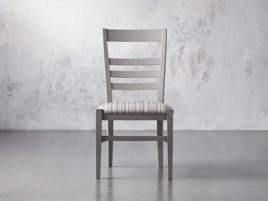 Scala Dining Side Chair in Ombra Grey, slide 3 of 10