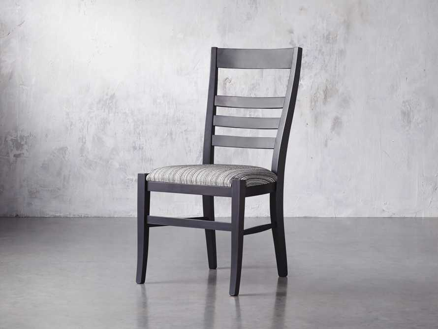"""Scala 20"""" Dining Side Chair in Midnight, slide 3 of 9"""