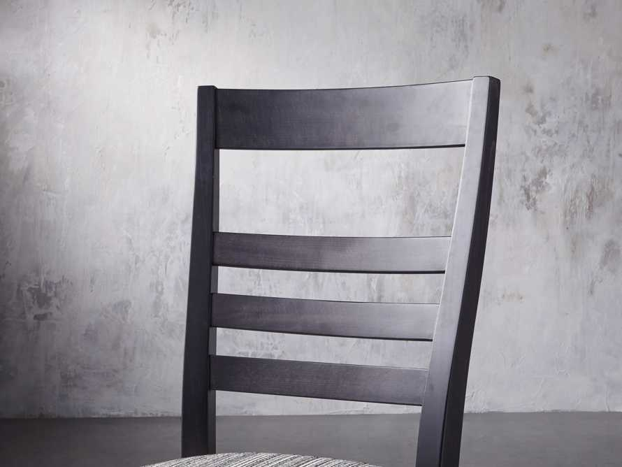 """Scala 20"""" Dining Side Chair in Midnight, slide 6 of 9"""