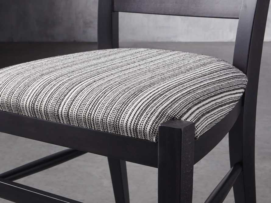 """Scala 20"""" Dining Side Chair in Midnight, slide 7 of 9"""