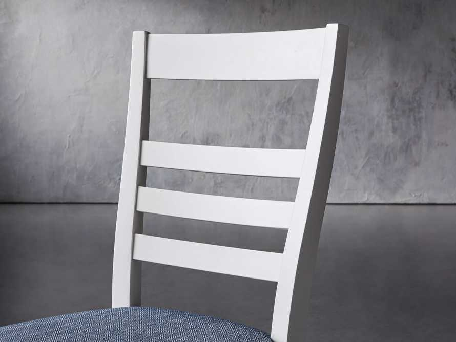 """Scala 20"""" Dining Side Chair in All White"""