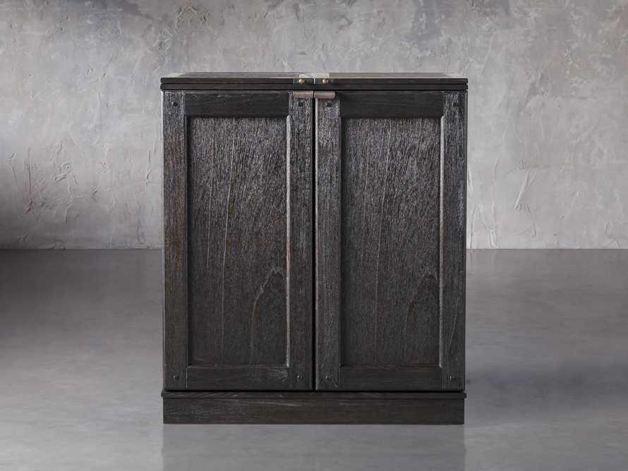 """Sutter 36"""" Bar Cabinet in Ebony, slide 1 of 8"""