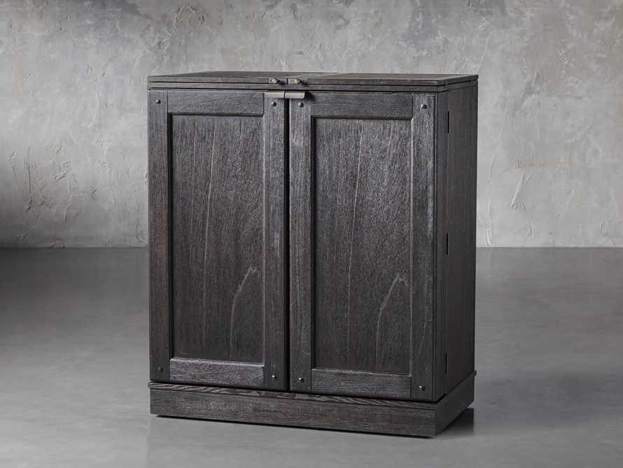 """Sutter 36"""" Bar Cabinet in Ebony, slide 2 of 8"""