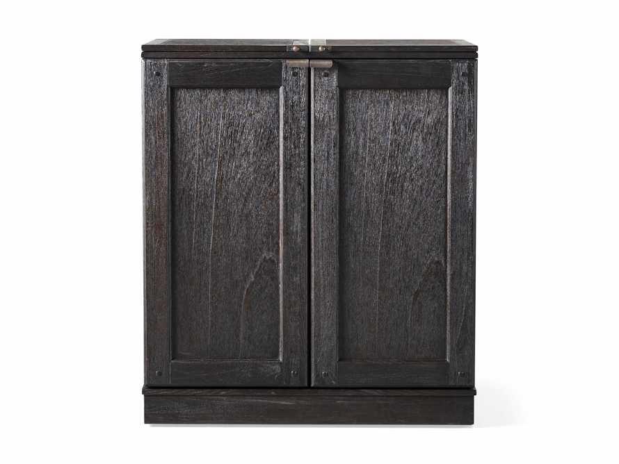 """Sutter 36"""" Bar Cabinet in Ebony, slide 8 of 8"""