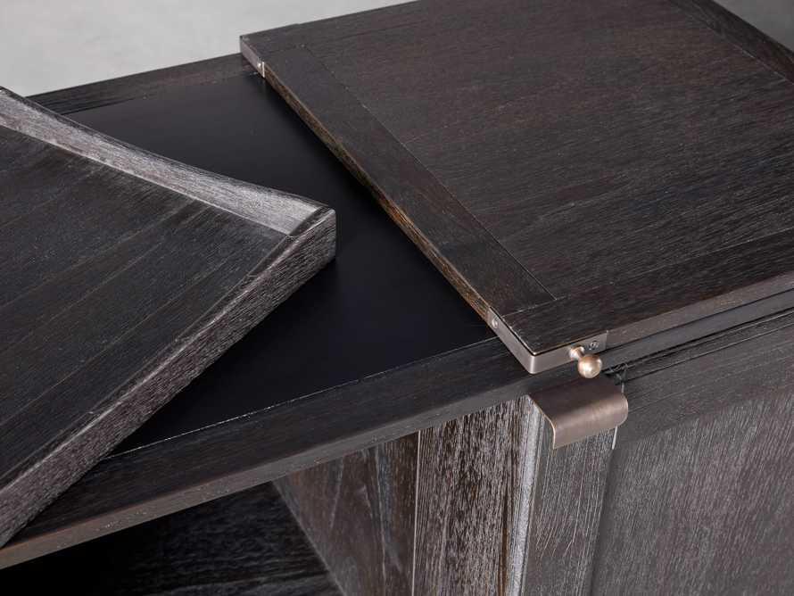 """Sutter 36"""" Bar Cabinet in Ebony, slide 5 of 8"""