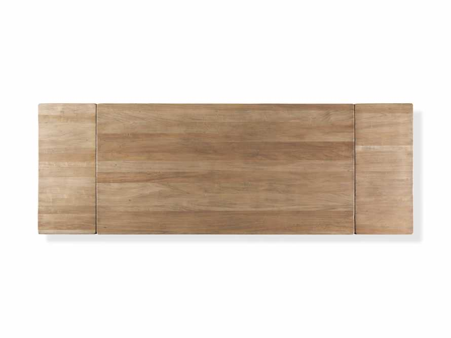 """Tuscany 78"""" Extension Dining Table in Blonde, slide 7 of 8"""