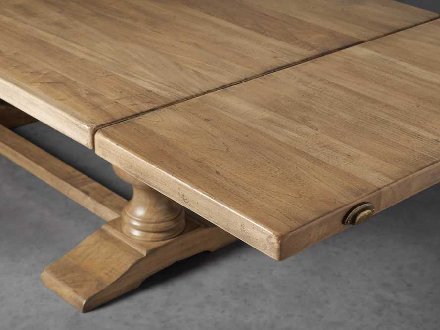 """Tuscany 78"""" Extension Dining Table in Blonde, slide 5 of 8"""