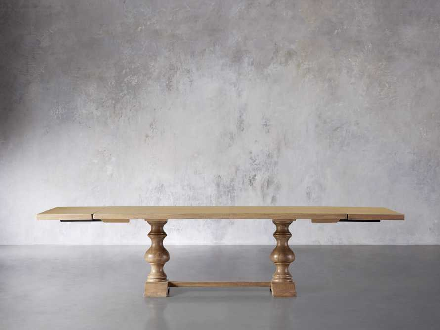 """Tuscany 78"""" Extension Dining Table in Blonde, slide 4 of 8"""