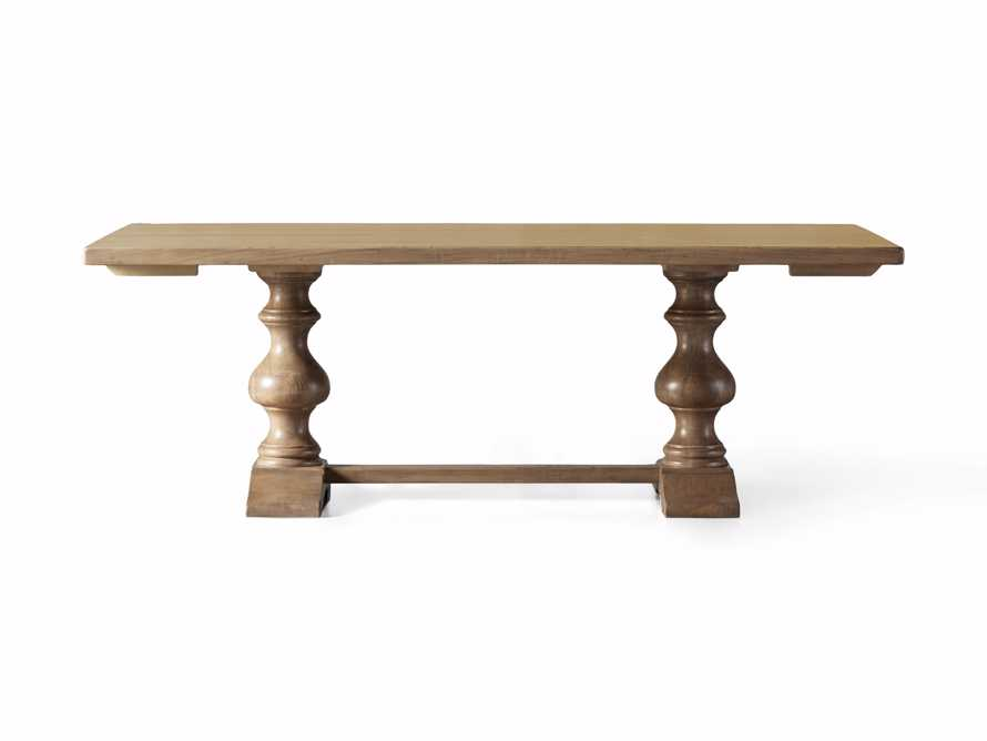 """Tuscany 78"""" Extension Dining Table in Blonde, slide 8 of 8"""