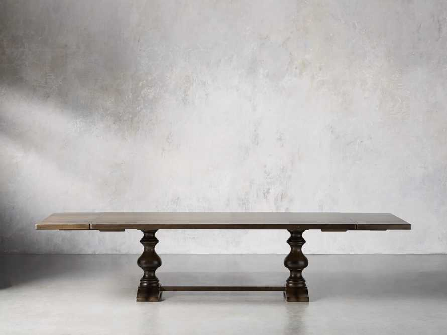 "Tuscany 78"" x 44"" Extension Table in Noceto, slide 5 of 7"