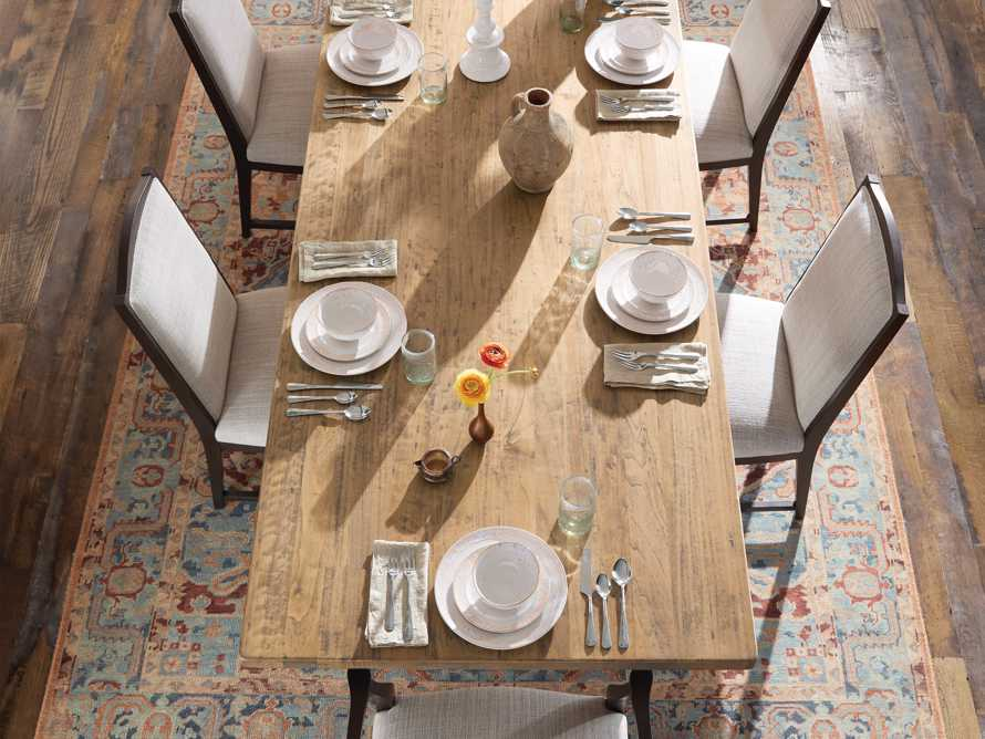 """Tuscany 94"""" Extension Dining Table in Blonde, slide 7 of 10"""