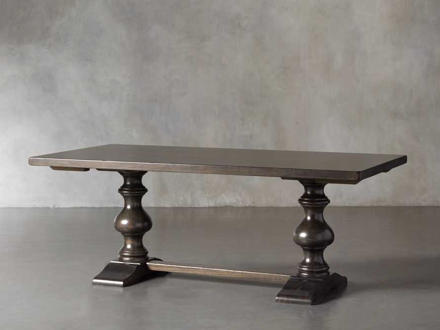"Tuscany 94"" x 44"" Extension Dining Table in Porfido"