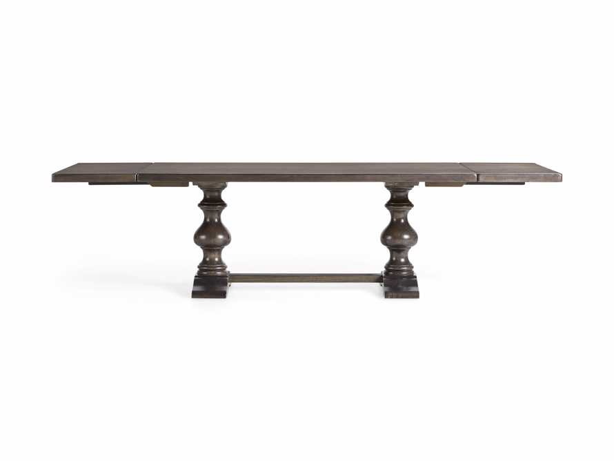 """Tuscany 94"""" x 44"""" Extension Dining Table in Porfido, slide 13 of 15"""