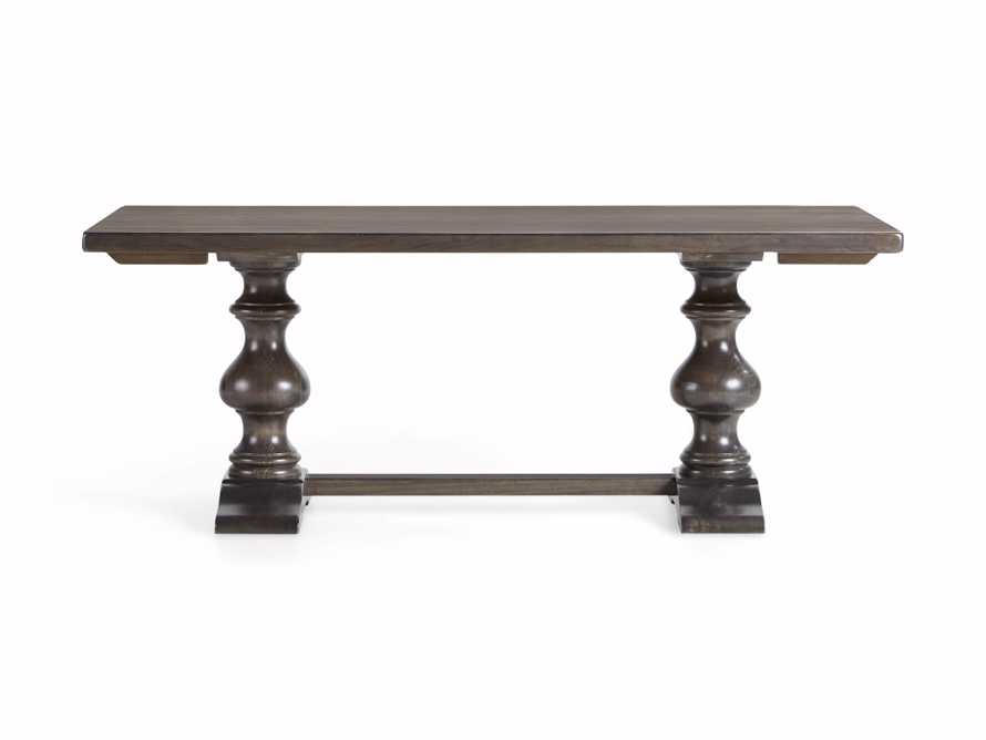 """Tuscany 94"""" x 44"""" Extension Dining Table in Porfido, slide 12 of 15"""
